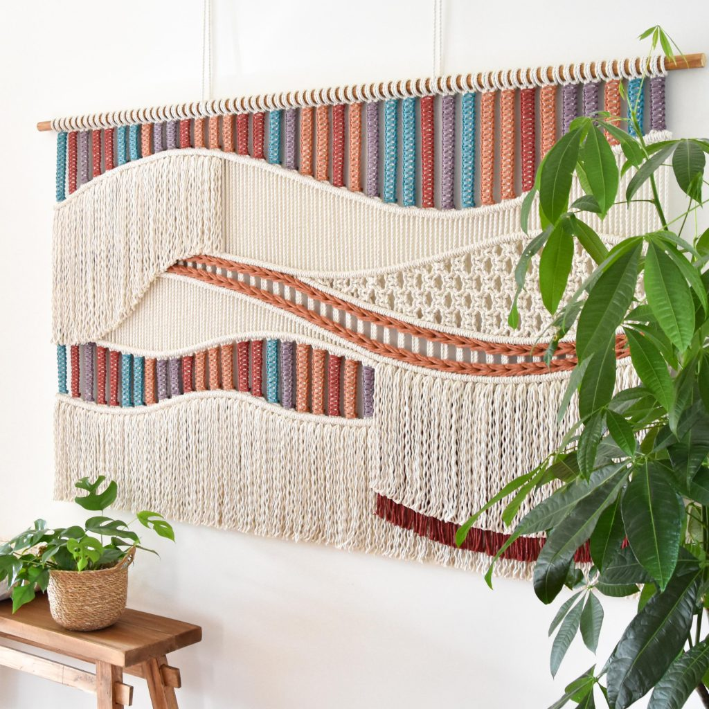 TamarThings macrame wall hanging / wandkleed