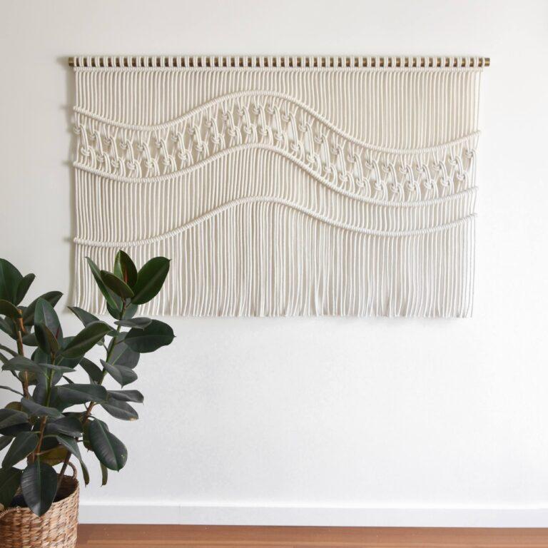Tamar Samplonius contemporary fiber art - Clouds