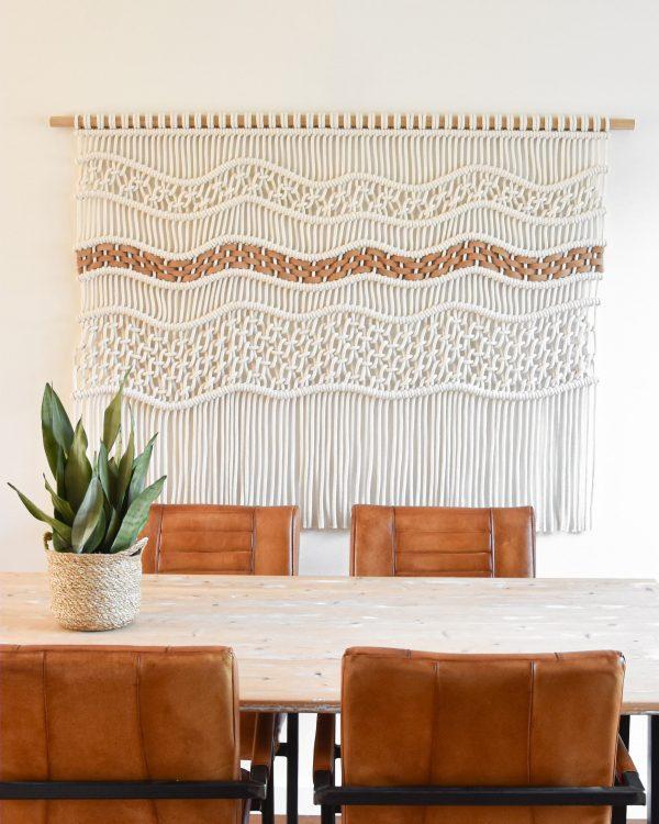 Tamar Samplonius contemporary fiber art - Flow